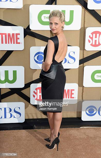 Sarah Michelle Gellar attends the CW CBS And Showtime 2013 Summer TCA Party on July 29 2013 in Los Angeles California