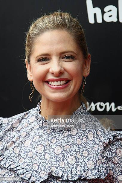 Sarah Michelle Gellar attends the GOOD Foundation's 1st Annual Halloween Bash at Sunset Gower Studios on October 30 2016 in Hollywood California