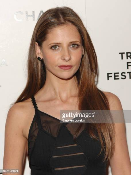 Sarah Michelle Gellar during 6th Annual Tribeca Film Festival 2nd Annual Chanel Dinnner Celebrating Artist Program at Bowery Hotel in New York City...