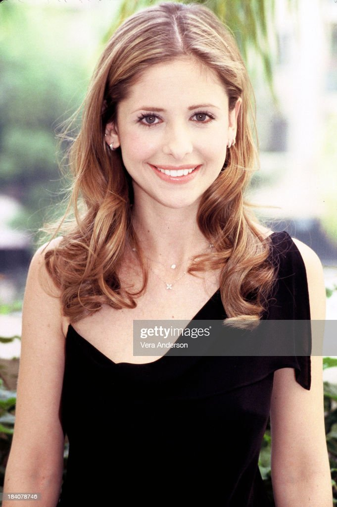 Buffy the Vampire Slayer Press Conference with Sarah Michelle Gellar : Nieuwsfoto's