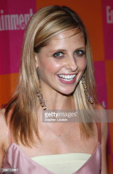 Sarah Michelle Gellar during Entertainment Weekly's Celebration of 'The Must List The 137 People Things We Love This Summer' Issue at CroBar in New...