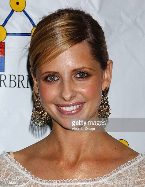 Sarah Michelle Gellar during STARBRIGHT'S 'Heart Of Gold' Annual Benefit Dinner Hosted By Sarah Michelle Gellar at The Beverly Hilton Hotel in...