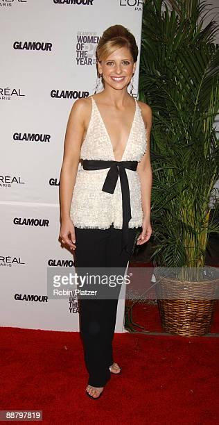 Sarah Michelle Gellar in Vera Wang