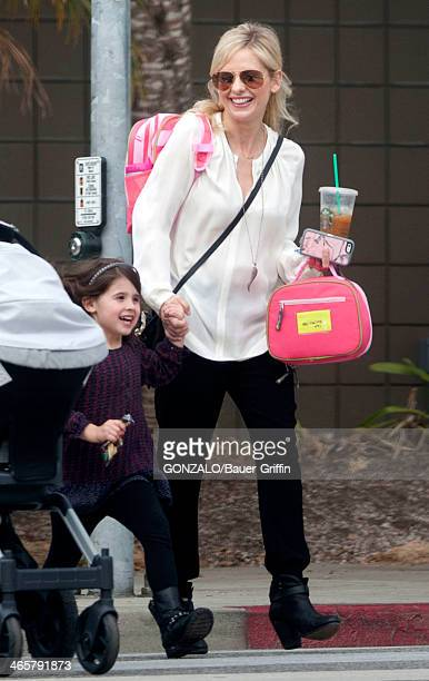 Sarah Michelle Gellar is seen with her daughter Charlotte Grace Prinze on January 29 2014 in Los Angeles California