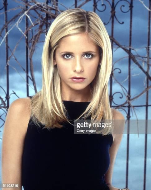 "Sarah Michelle Gellar Stars In ""Buffy The Vampire Slayer."""
