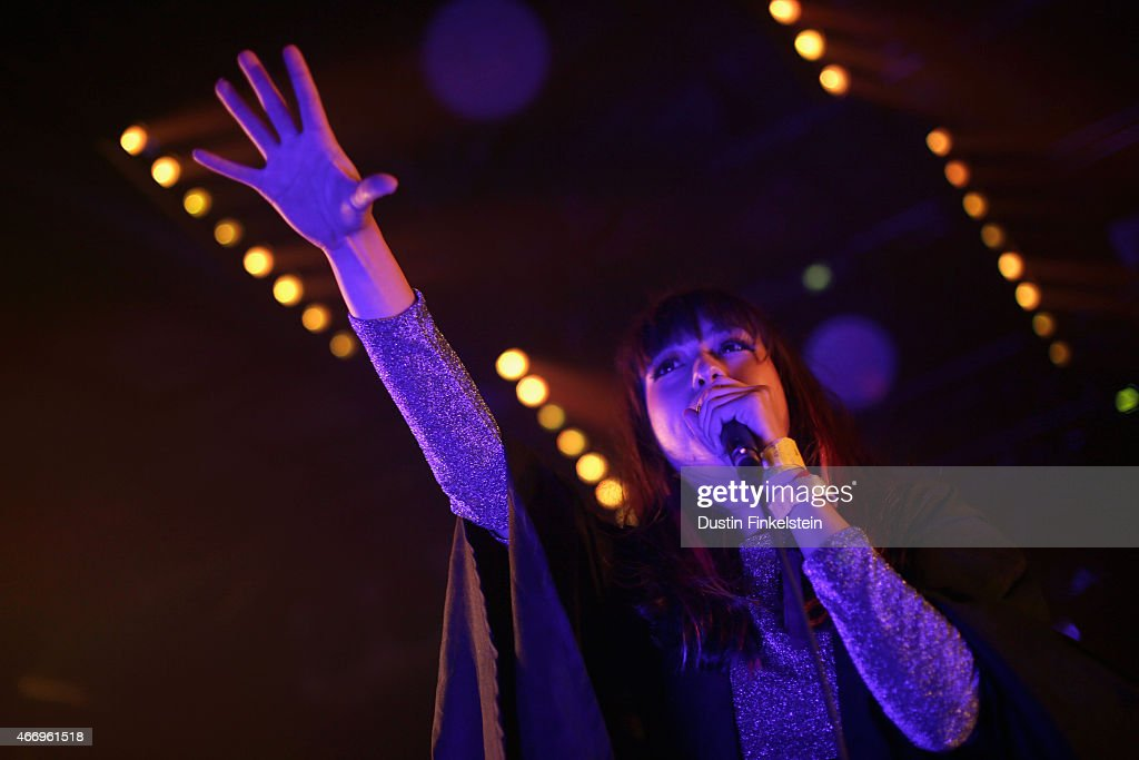 Sarah Midori Perry of Kero Kero Bonito performs onstage at the Hype/Gorilla vs. Bear showcase during the 2015 SXSW Music, Film + Interactive Festivale at Hype Hotel on March 19, 2015 in Austin, Texas.