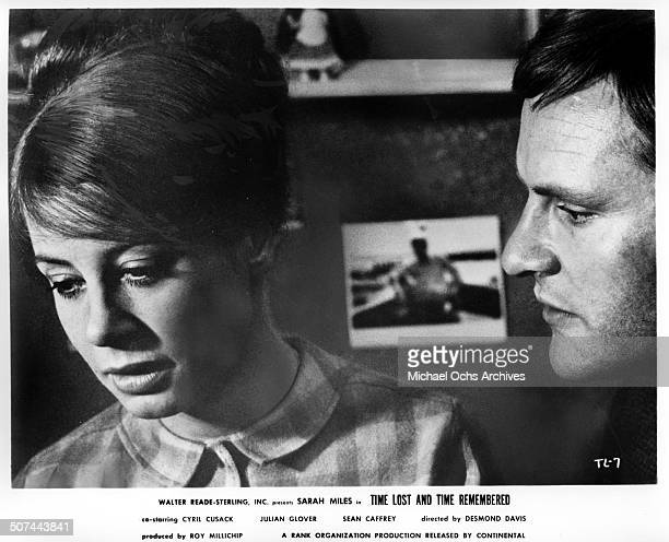 Sarah Miles and Julian Glover drift into a up happy marriage in a scene from the movie Time Lost and Time Remembered circa 1966