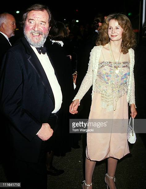 Sarah Miles and Robert Bolt at Film Premiere The Mission