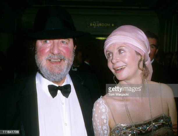 Sarah Miles and Robert Bolt at The BAFTA Awards during Sarah Miles and Robert Bolt at 1991 BAFTA awards in London Great Britain