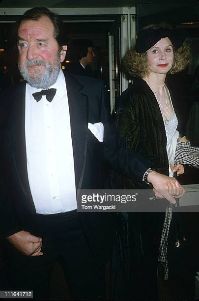 Sarah Miles and Robert Bolt at The BAFTA Awards during Sarah Miles and Robert Bolt at The BAFTA Awards 1989 in London Great Britain