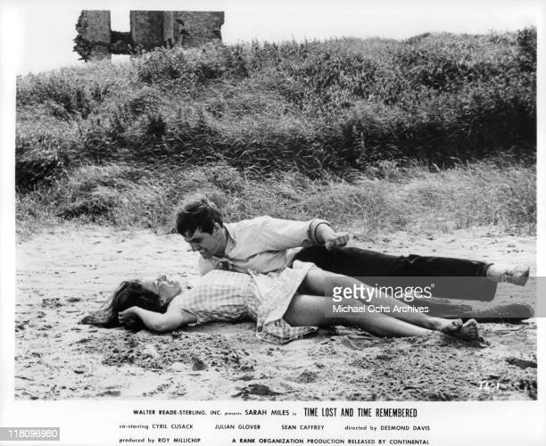 Sarah Miles and Sean Caffrey are young and in love in a scene from the film 'Time Lost and Time Remembered' 1966