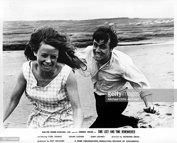 Sarah Miles and Sean Caffrey are young lovers in a scene from the movie Time Lost and Time Remembered circa 1966