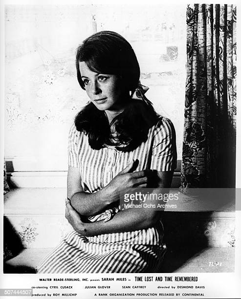 Sarah Miles as Cass Langdon in a scene from the movie Time Lost and Time Remembered circa 1966