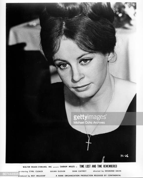 Sarah Miles as Cass Langdon looks mournful in a scene from the movie Time Lost and Time Remembered circa 1966
