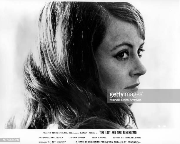 Sarah Miles as Cass Langdon looks on in a scene from the movie Time Lost and Time Remembered circa 1966