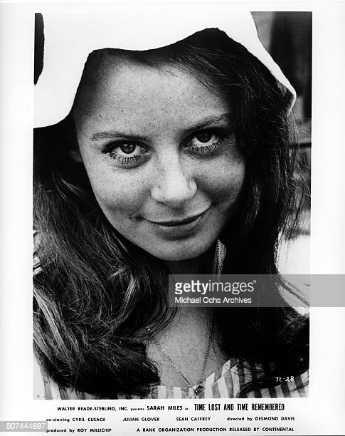 Sarah Miles as Cass Langdon poses for the movie Time Lost and Time Remembered circa 1966