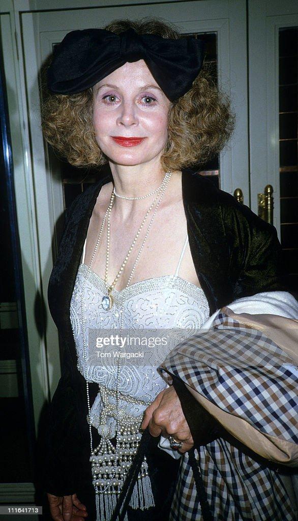 Sarah Miles and Robert Bolt at The BAFTA Awards 1989 : News Photo