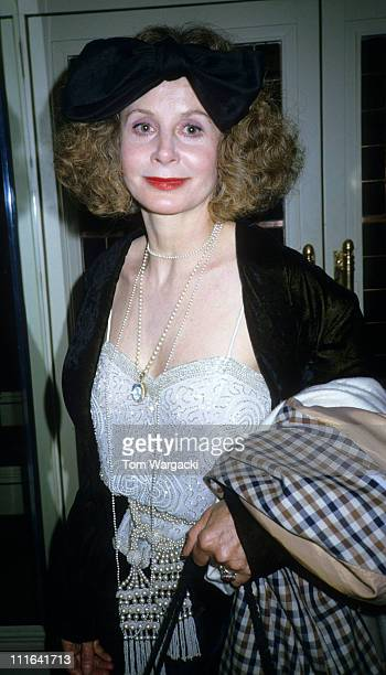 Sarah Miles at The BAFTA Awards during Sarah Miles and Robert Bolt at The BAFTA Awards 1989 in London Great Britain