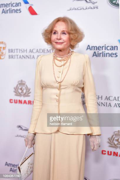 Sarah Miles attends the 2018 British Academy Britannia Awards presented by Jaguar Land Rover and American Airlines at The Beverly Hilton Hotel on...