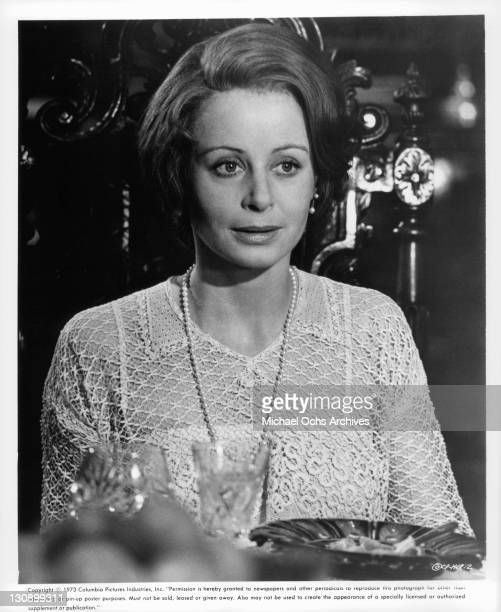Sarah Miles in a scene from the film 'The Hireling' 1973