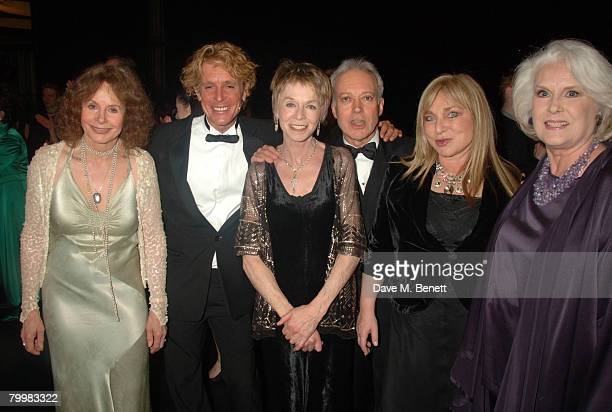 Sarah Miles Jonathon Morris Susanah York Nickolas Grace and Helen Lederer attend the 'I'd Like To Teach The World To Sing' Gala Tribute Concert to...