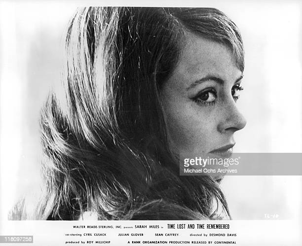 Sarah Miles looks to her right in a scene from the film 'Time Lost and Time Remembered' 1966