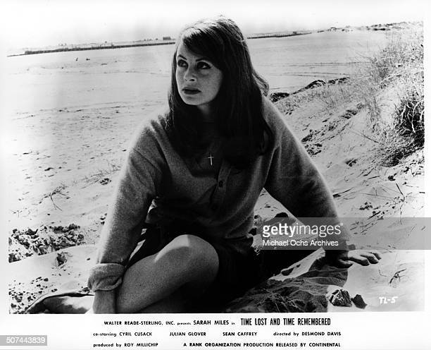 Sarah Miles returns home from London to search for her lost love in a scene from the movie Time Lost and Time Remembered circa 1966