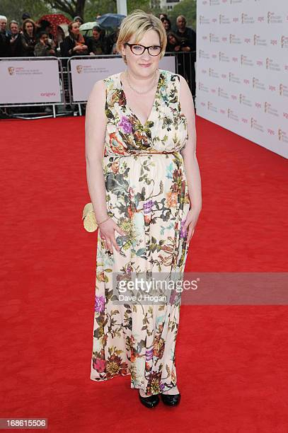 Sarah Millican attends the BAFTA TV Awards 2013 at The Royal Festival Hall on May 12 2013 in London England