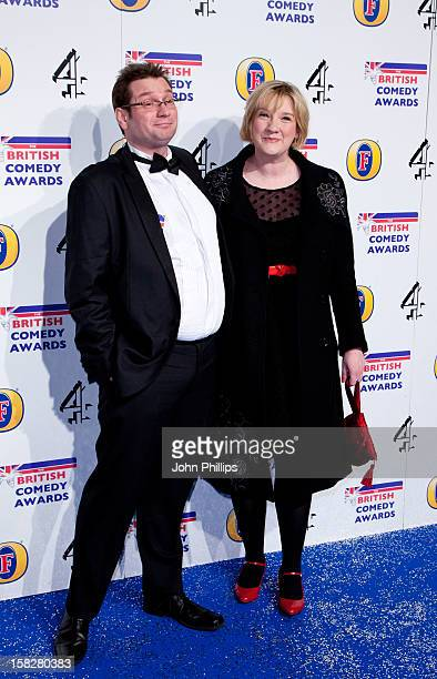 Sarah Millican attends the British Comedy Awards at Fountain Studios on December 12 2012 in London England