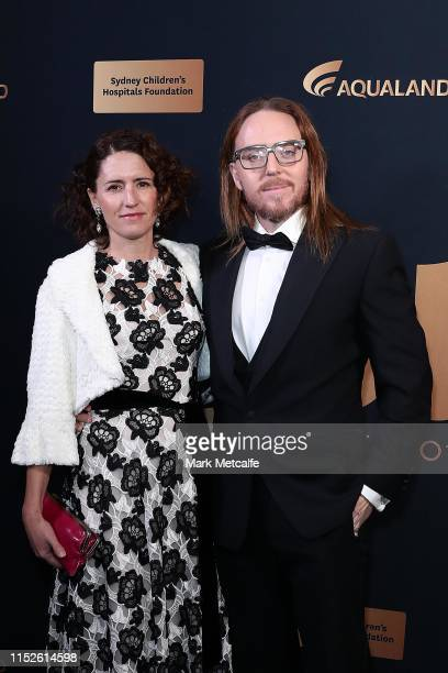 Sarah Minchin and Tim Minchin attend the annual Gold Dinner at Fox Studios on May 30 2019 in Sydney Australia