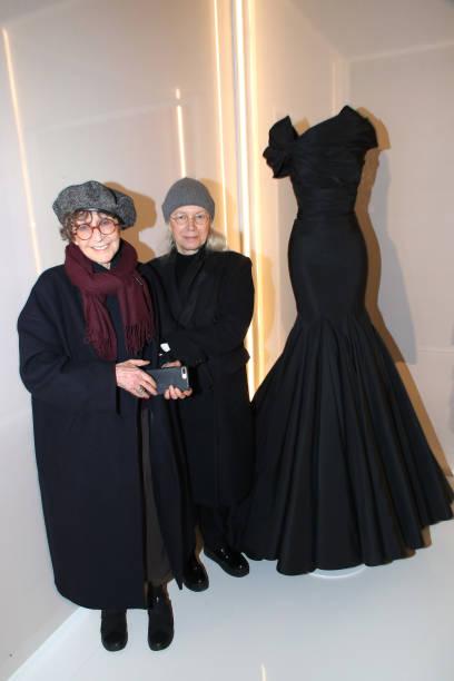 "FRA: ""Azzedine Alaia Collector - Alaia And balenciaga, Sculptors Exhibition - Paris Fashion Week - Menswear F/W 2018-2019"