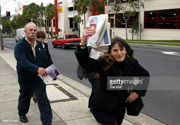 Sarah Moore leaving the Ringwood Court She was a victim of The Family led by Anne HamiltonByrne 12 May 2005 THE AGE NEWS Picture by PENNY STEPHENS