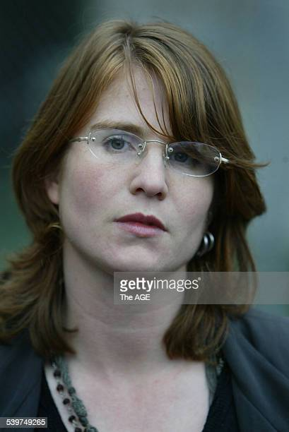 Sarah Moore leaving the Ringwood Court She was a victim of The Family led by Anne HamiltonByrne 3 July 2005 THE AGE NEWS Picture by PAUL HARRIS