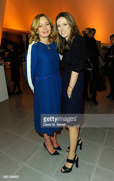 Sarah Mower and Clare Waight Keller attend Cocktail to Celebrate the Launch of the Book Chloe Attitudes hosted by Sarah Mower and Marc Ascoli at...