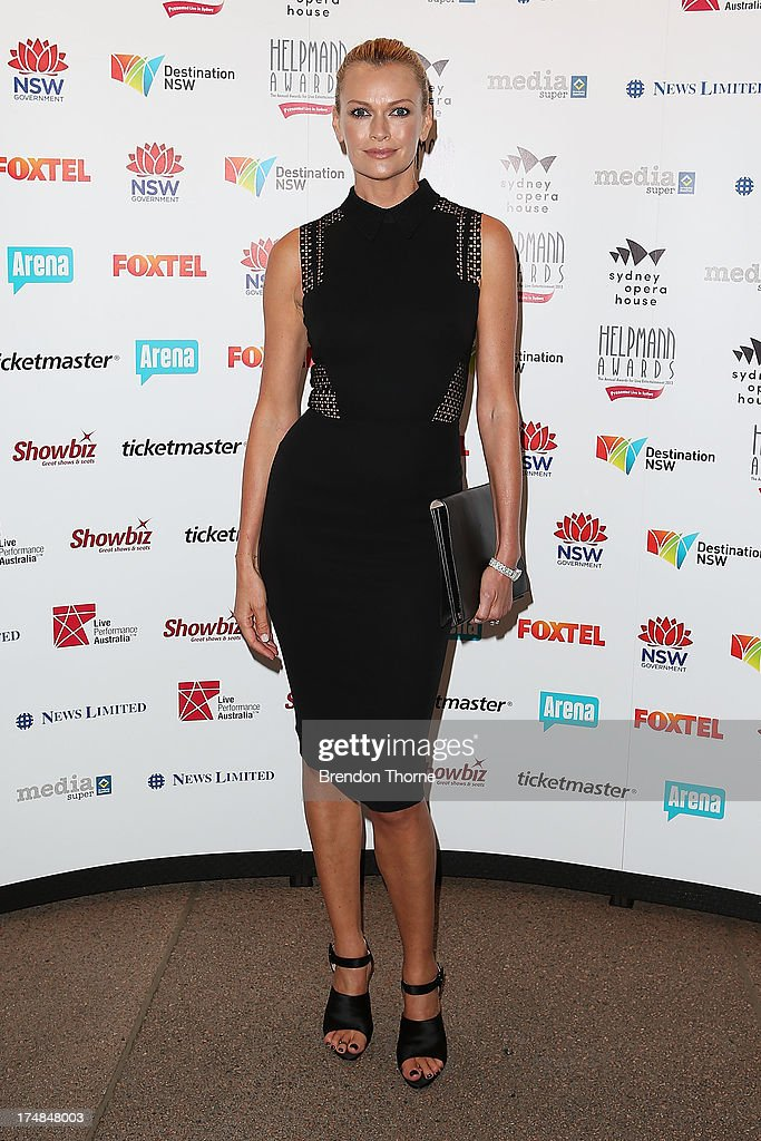 Sarah Murdoch arrives at the 2013 Helpmann Awards at the Sydney Opera House on July 29, 2013 in Sydney, Australia.