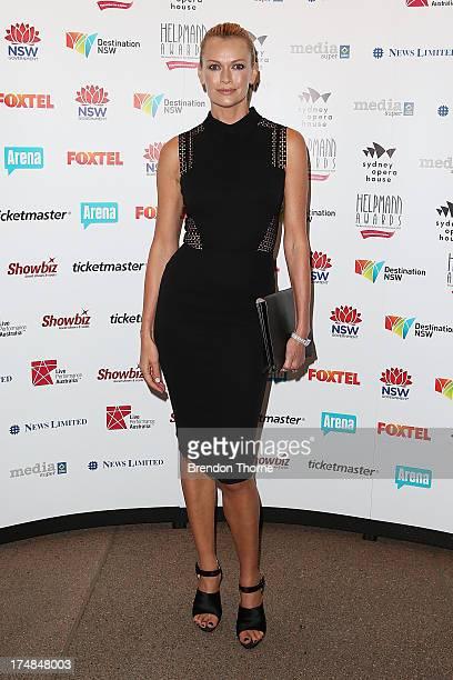 Sarah Murdoch arrives at the 2013 Helpmann Awards at the Sydney Opera House on July 29 2013 in Sydney Australia
