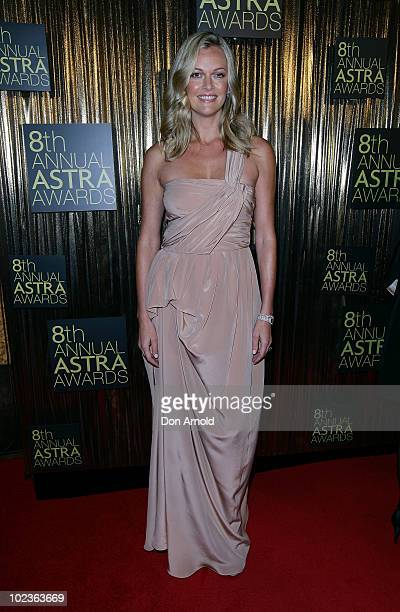 Sarah Murdoch arrives at the 8th annual ASTRA Awards at the State Theatre on June 24 2010 in Sydney Australia