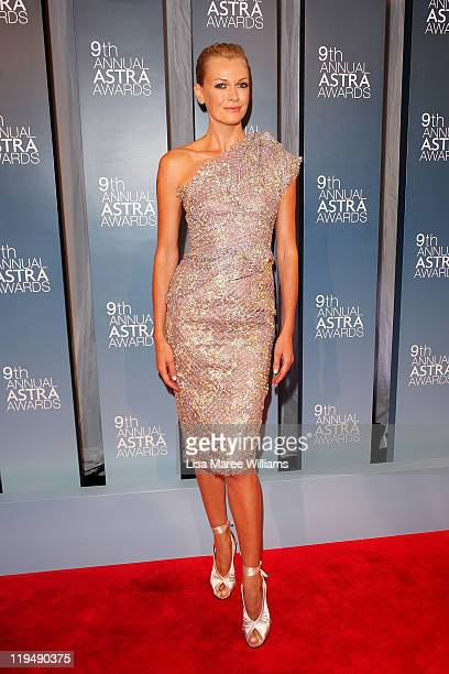 Sarah Murdoch arrives at the 9th Annual Astra Awards on July 21 2011 in Sydney Australia