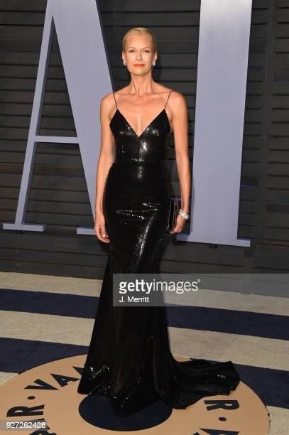 Sarah Murdoch attends the 2018 Vanity Fair Oscar Party hosted by Radhika Jones at the Wallis Annenberg Center for the Performing Arts on March 4 2018...