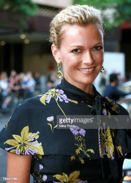 Sarah Murdoch attends the Sydney premiere of Billy Elliot The Musical at the Capitol Theatre on December 13 2007 in Sydney Australia