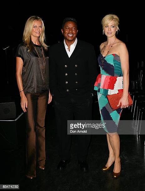 Sarah MurdochJermaine Jackson and Jenna Elfman attends the 2009 MCN Upfront party celebrating upcoming programming available on FOXTEL via the Multi...