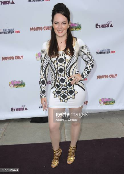 Sarah Nicklin arrives for the 2018 Etheria Film Night held at the Egyptian Theatre on June 16 2018 in Hollywood California