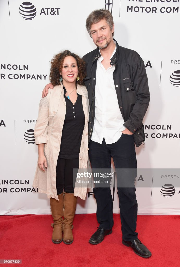 Sarah Nodjoumi and Till Schuder attend the 'When God Sleeps' Premiere during 2017 Tribeca Film Festival at Cinepolis Chelsea on April 20, 2017 in New York City.