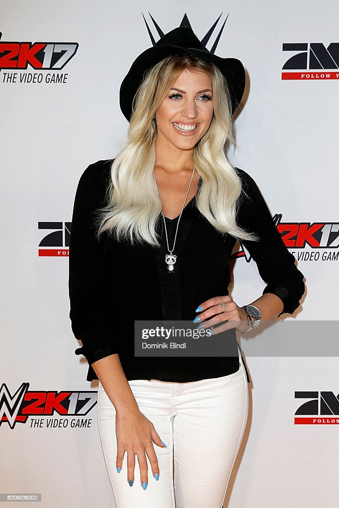 Sarah Nowak attends Tim Wieses first WWE fight at