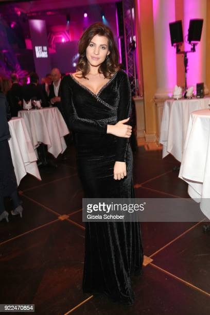 Sarah Nowak during the 15th Best Brands Award 2018 on February 21 2018 at Hotel Bayerischer Hof in Munich Germany