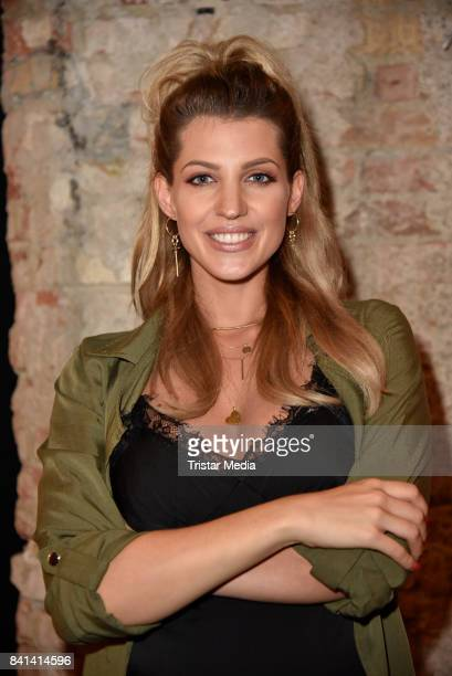 Sarah Nowak during the TV Show Pre Screening at Soho House on August 31 2017 in Berlin Germany