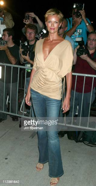 Sarah O'Hare during Mercedes Benz Fashion Week 2003 Opening of the First Stella McCartney Store Worldwide at Stella McCartney Store in New York New...