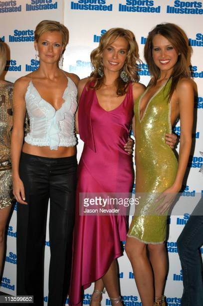 Sarah O'Hare Molly Sims and Petra Nemcova cover model of the 2003 Sports Illustrated swimsuit issue