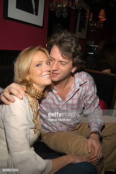 Sarah Orecchia and Emilio Orecchia attend Valentine's Day Cocktail Party hosted by Abby Weisman and Robin Navrozov at Serena's on February 14 2006 in...