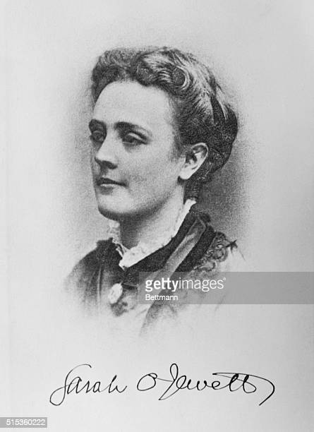 Sarah Orne Jewett author of stories about New England